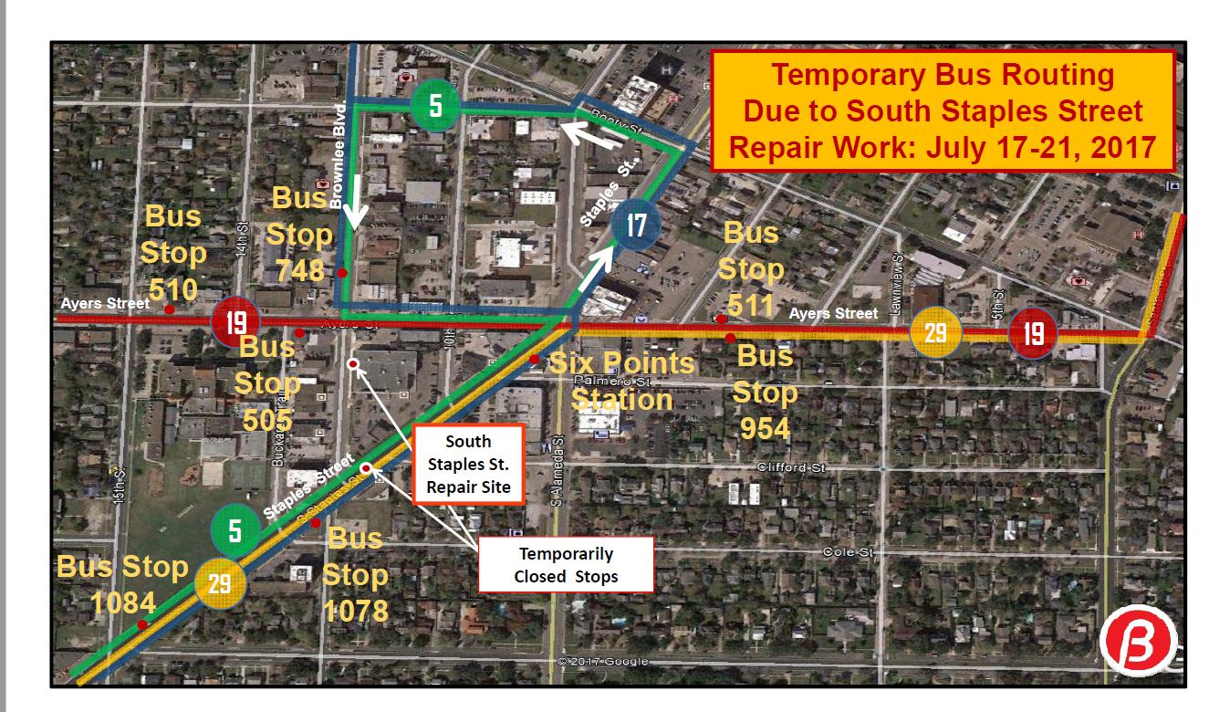 office depot route change – cc regional transit authority